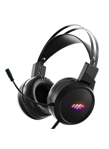 MF Product MF Product Strike 0516 Kablolu Kulak Üstü Oyuncu Kulaklığı 7.1 USB Siyah